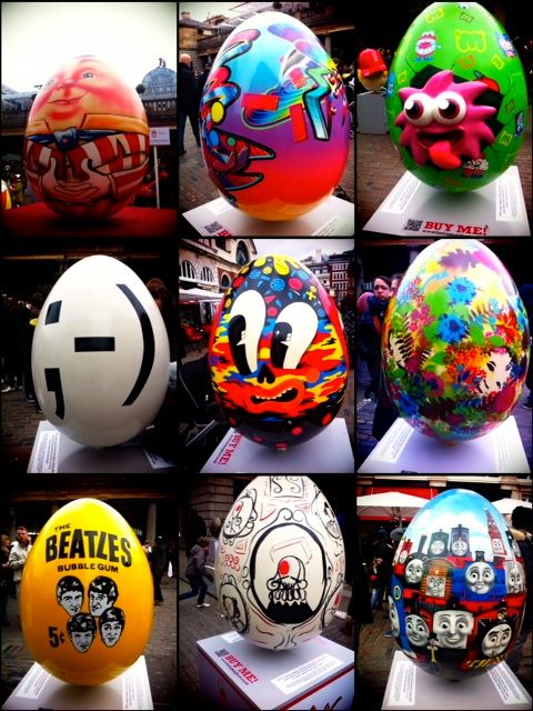 Easter Eggs Exhibition, London