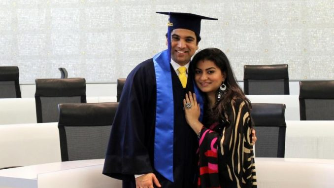 Gaurav Deshpande on graduation day