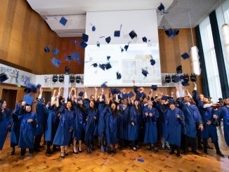 MBA class of 2019 after graduating