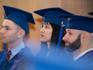 ESMT graduates on graduation day