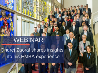 EMBA Class photo 2018-2020