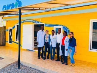 Team at CURFA facilities
