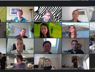 Group on zoom call